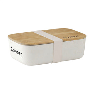 PERSONALISED LARGE BAMBOO LUNCH BOX