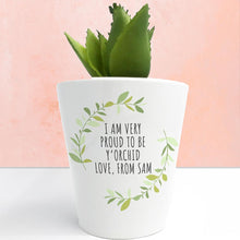 Load image into Gallery viewer, Personalised Love Mum Mini Plant Pot - One of a Kind Gifts UK