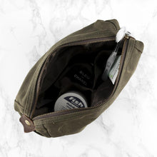 Load image into Gallery viewer, Personalised Men's Vintage Washbag - One of a Kind Gifts UK