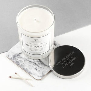 Personalised Mindfulness Candle - One of a Kind Gifts UK