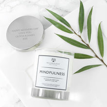 Load image into Gallery viewer, Personalised Mindfulness Candle - One of a Kind Gifts UK