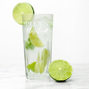 Personalised Mojito Glass - One of a Kind Gifts UK