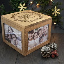 Load image into Gallery viewer, Personalised Our Family Believes Christmas Memory Box - One of a Kind Gifts UK