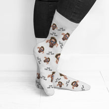 Load image into Gallery viewer, Personalised Photo Socks - One of a Kind Gifts UK