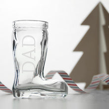 Load image into Gallery viewer, Personalised Santa Boot Shot Glass - One of a Kind Gifts UK