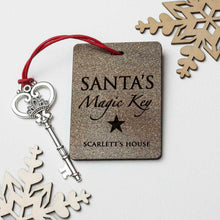 Load image into Gallery viewer, Personalised Santa's Magic Key