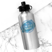 Load image into Gallery viewer, Personalised Silver Water Bottle - One of a Kind Gifts UK