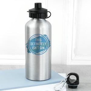 Personalised Silver Water Bottle - One of a Kind Gifts UK