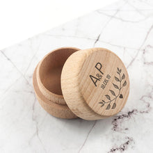 Load image into Gallery viewer, Personalised Special Date Ring Box - One of a Kind Gifts UK