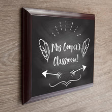Load image into Gallery viewer, Personalised Teacher's Classroom Sign - One of a Kind Gifts UK
