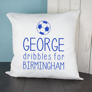Personalised This Baby Dribbles For Baby Cushion Cover - One of a Kind Gifts UK