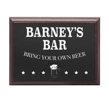 Load image into Gallery viewer, Personalised Welcome To My Bar Plaque - One of a Kind Gifts UK