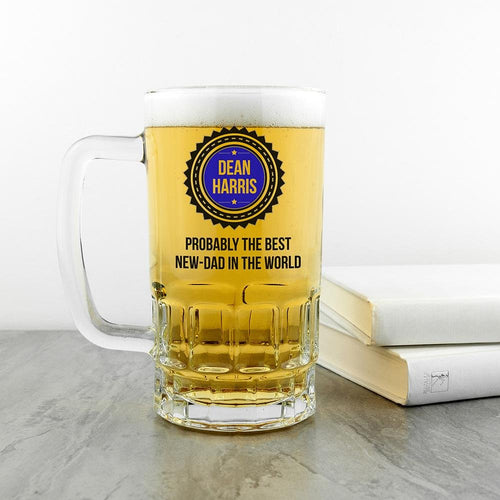 Probably The Best New Dad In The World Tankard - One of a Kind Gifts UK