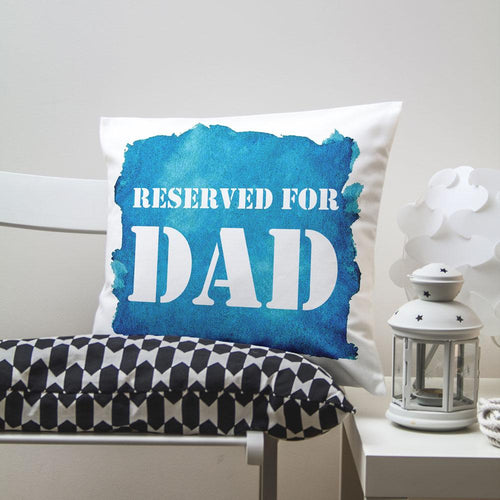Reserved For... Watercolour Cushion Cover - One of a Kind Gifts UK