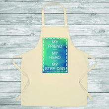 Load image into Gallery viewer, Step Dad Means... Unpersonalised Apron - One of a Kind Gifts UK