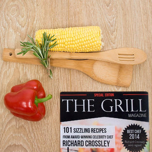 The Grill Magazine Personalised Glass Chopping Board - One of a Kind Gifts UK