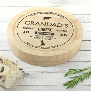 Traditional Brand Cheese Board Set - One of a Kind Gifts UK