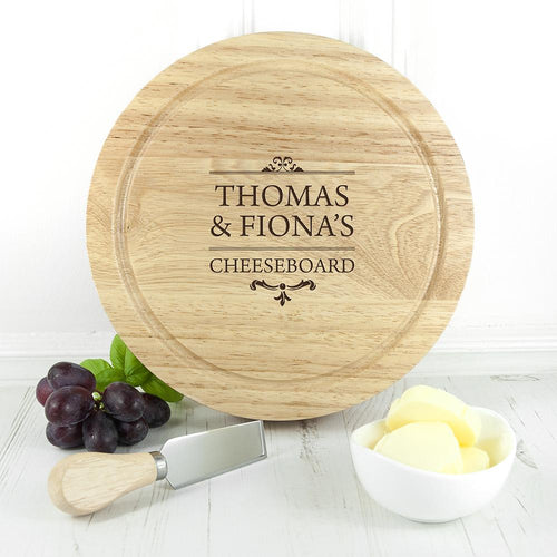 Traditional Couple's Cheese Set - One of a Kind Gifts UK