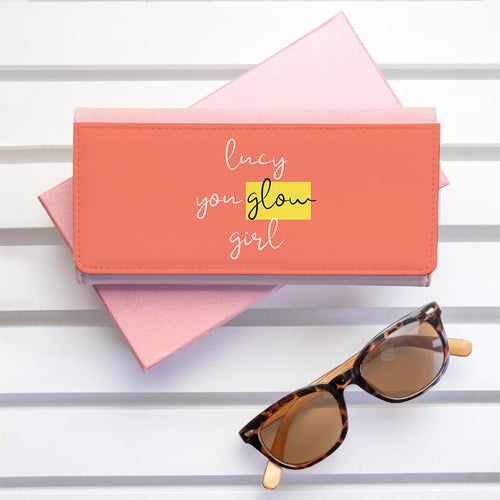 You Glow Girl Pink Wallet - One of a Kind Gifts UK