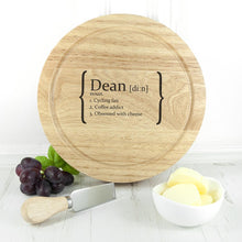 Load image into Gallery viewer, Your Definition Cheese Board Set - One of a Kind Gifts UK