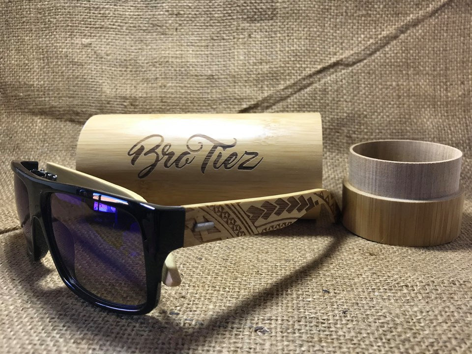 BRO TIEZ - TRIBAL SUNNIES (FREE CUSTOM MADE CASE)
