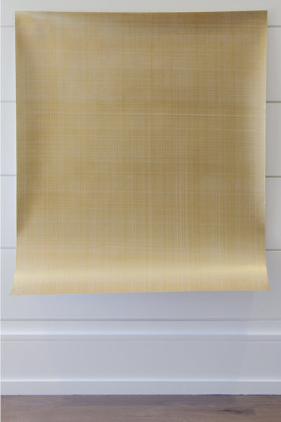 Metallics Basket Weave Wall Covering