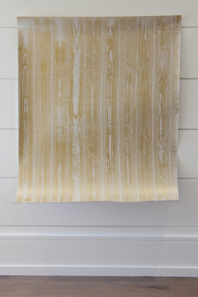 Metallics Faux Bois Wall Covering