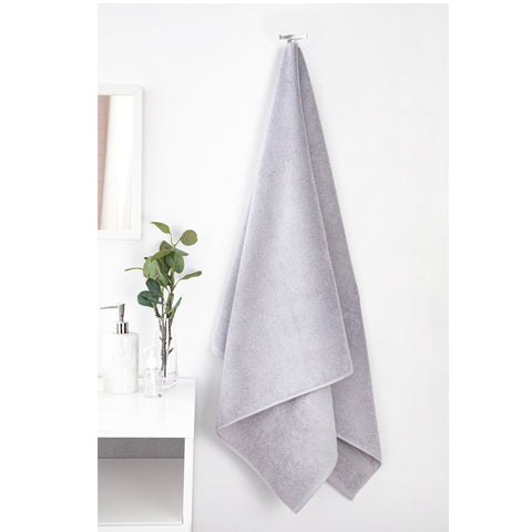 Towel hanging on hook