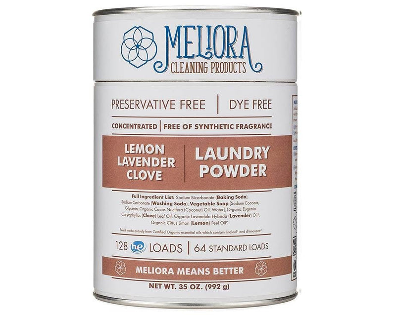 Meliora Laundry Powder - Lemon-Lavender-Clove