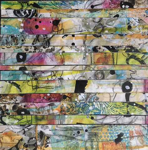 Strips 2 6x6 - by Nina Chatham