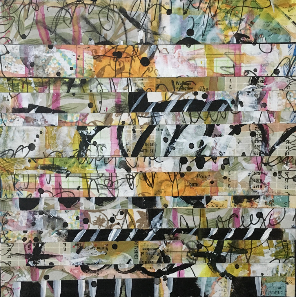 Strips 3 6x6 - by Nina Chatham