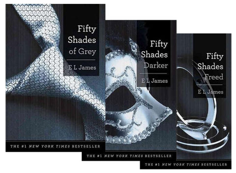 Fifty Shades of Grey Trilogy by E L James (Available in ePub/Mobi and PDF formats)