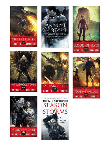 The Witcher Complete Series by  Andrzej Sapkowski (1-7 books Available in Epub,Mobi and Pdf Formats)