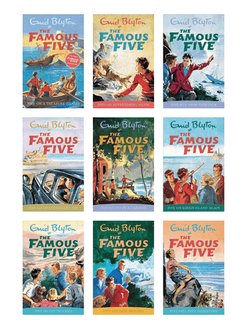The Famous Five Complete Series by Enid Blyton (01 - 21 Ebooks Available in ePub/Mobi and PDF Formats)