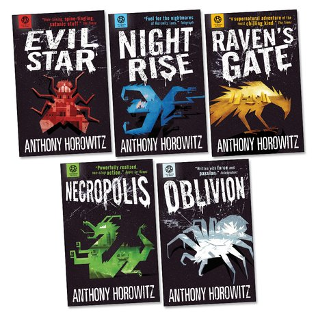 Power of Five Series by Anthony Horowitz (01-05 Ebooks Available in Epub/Mobi and PDF Formats)