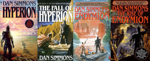 Hyperion Cantos Series by Dan Simmons (Available in ePUB/Mobi and PDF Formats)