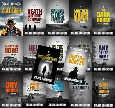 Craig Johnson Collection 18 eBooks (Available in ePub/Mobi and PDF Formats)
