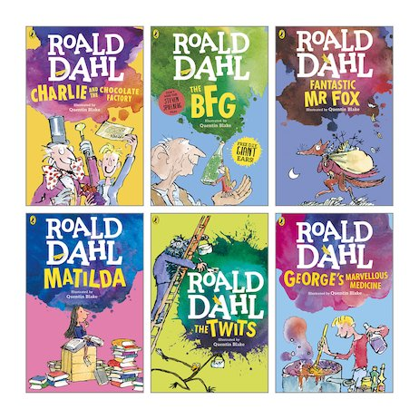 Roald Dahl Ebooks - 29 Ebooks Available in ePUB/Mobi and PDF Formats