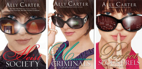 Heist Society Series by Ally Carter (01-03 Ebooks Available in ePUB/Mobi and PDF Formats)
