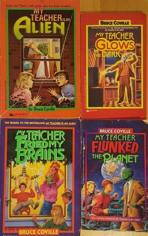 My Teacher Is An Alien Complete Series by Bruce Coville (Available in ePub/Mobi and PDF formats)