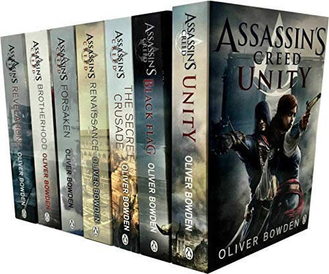 Assassin's Creed Complete Series by Oliver Bowden (1-8 ebooks Available in ePub/Mobi and PDF formats)