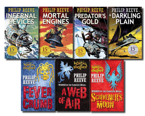Mortal Engines Complete Series by Philip Reeve 7 EBooks Set (available in ePub/Mobi and PDF formats)