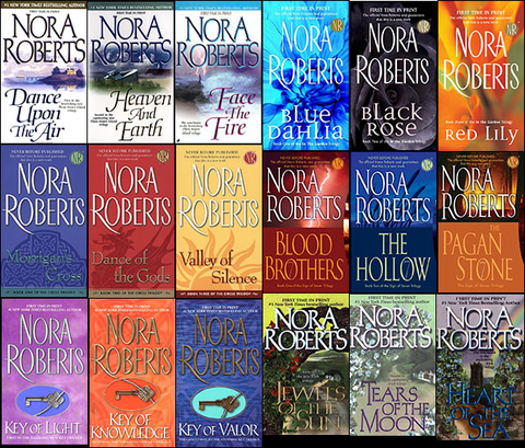 185 Ebooks by Nora Roberts Available in ePub/Mobi and PDF formats