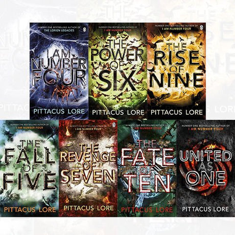Pittacus Lore - Lorien Legacies Complete Series by James  Ferry, Jobie Hughes (Available in Epub/Mobi and PDF formats)