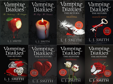 The Vampire Diaries - L. J. Smith (Books 1-10) Available in Epub/Mobi and PDF Formats