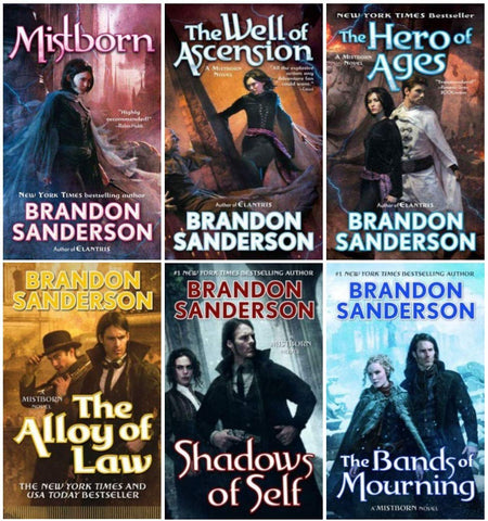 Complete Mistborn Series by Brandon Sanderson (1-6 Ebooks Available in ePub/Mobi and PDF formats)