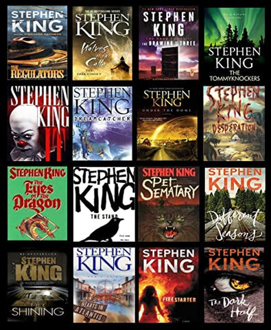 70 Ebooks by Stephen King (Available in ePub/Mobi and PDF formats)