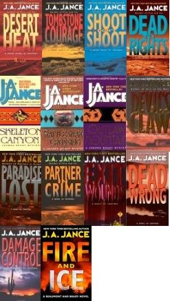 Joanna Brady Series by J. A. Jance (01-15 Ebooks Available in ePUB/Mobi and PDF Formats)
