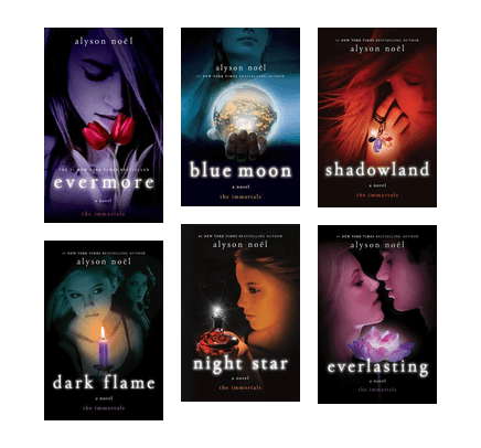 The Immortals Series by Alyson Novel (01-06 Ebooks Available in ePUB/Mobi and PDF Formats)