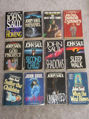 22 John Saul Ebooks Collection Available in ePUB/Mobi and PDF Formats